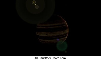 Planet Jupiter.