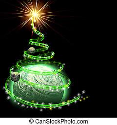baum weihnachten allegorie photoshop image baum. Black Bedroom Furniture Sets. Home Design Ideas