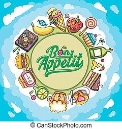 Planet of food series