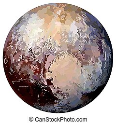Pluto Planet Drawing at GetDrawings   Free download  Pluto Planet Drawing