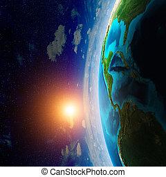 planet, raum