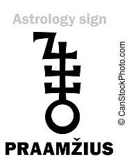 planet), (superdistant, こびと, astrology:, praamzius