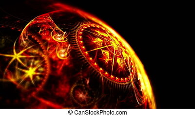 planet zodiac 4k