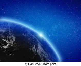 planeta, atmósfera, tierra