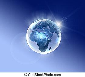 planeta azul, relámpago, 2