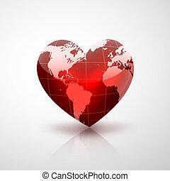 planeta, de, amor
