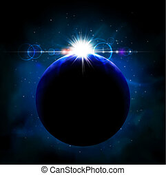 planeta, espacio