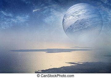 planeta, fantástico
