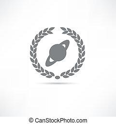 planeta, icono