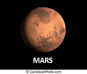 planeta, marte