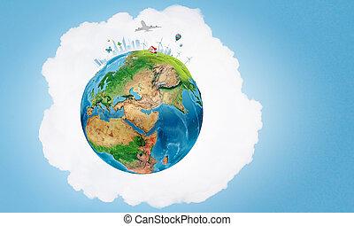 planeta, nós, vida