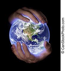 planeta, nuestro, tierra