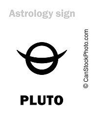 planeta, plutão, astrology: