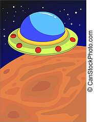 planeta, ufo