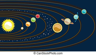 Planetary System - planetary system illustration clip-art...