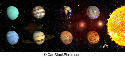 Planets of our solar system an illustrated diagram showing the planets of our solar system ccuart Image collections