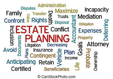 planificação, propriedade