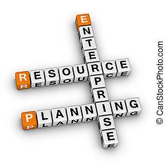 planificação, recurso, empresa