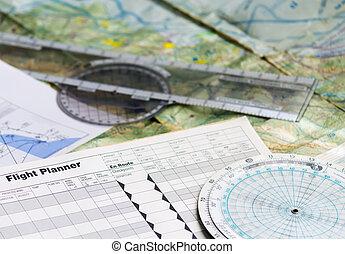 planificação, vôo