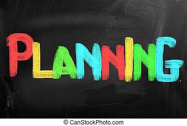 planificación, concepto