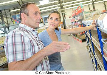 planificación, el, tienda, características