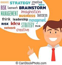 planificación estratégica, design.