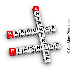 planificación, recurso, empresa