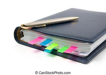 planificador, diario