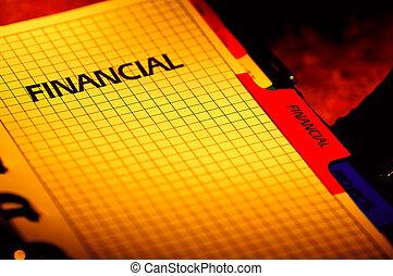 planificateur, financier