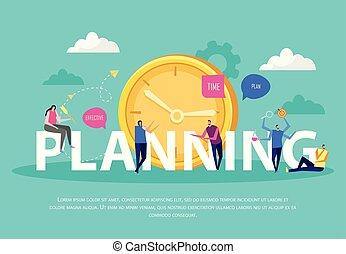 planification, gestion, efficace, fond
