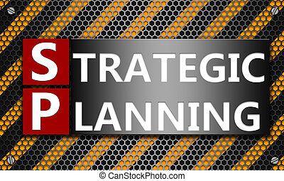 planification, maille, concept, fond, hexagone, stratégique