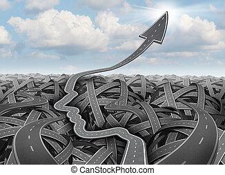planification, reussite, stratégie
