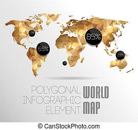 planisphère, graphiques, information