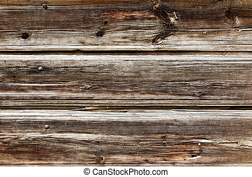 Plank background. Old wood fence closeup texture.