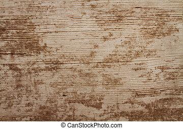 plank, grunge, hout, houten textuur, tafel, achtergrond., bureau