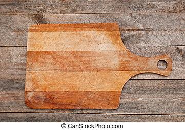 plank, holle weg
