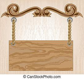 plank, houten