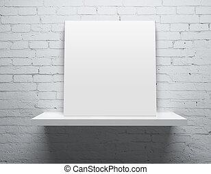 plank, met, poster
