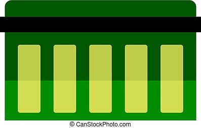 plank, technologie, vrijstaand, circuit, pictogram