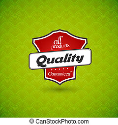 plank, teken., kwaliteit, groene, product