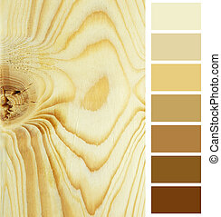 plank timeber color chart selection palette
