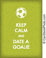 plank, voetbal, groene, thema