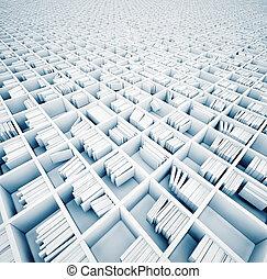 planken, witte