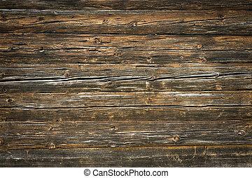 plankor, rustik, ved, bakgrund, vignetting, trevlig