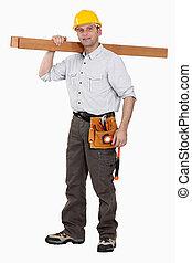 planks., porter, charpentier