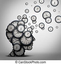 planlægning, tid, begreb