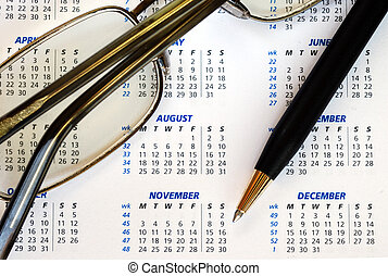 Planning ahead - Check out the dates in a business calendar...