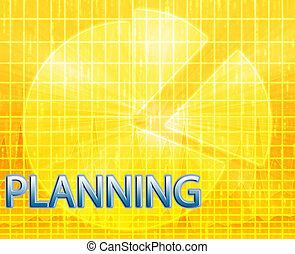 Planning budgeting illustration