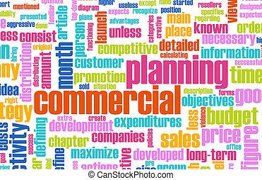 planning, commercieel