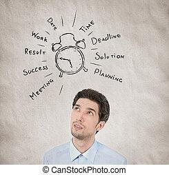 planning, concept, dag, zakelijk